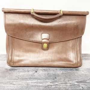 Vintage Coach leather briefcase